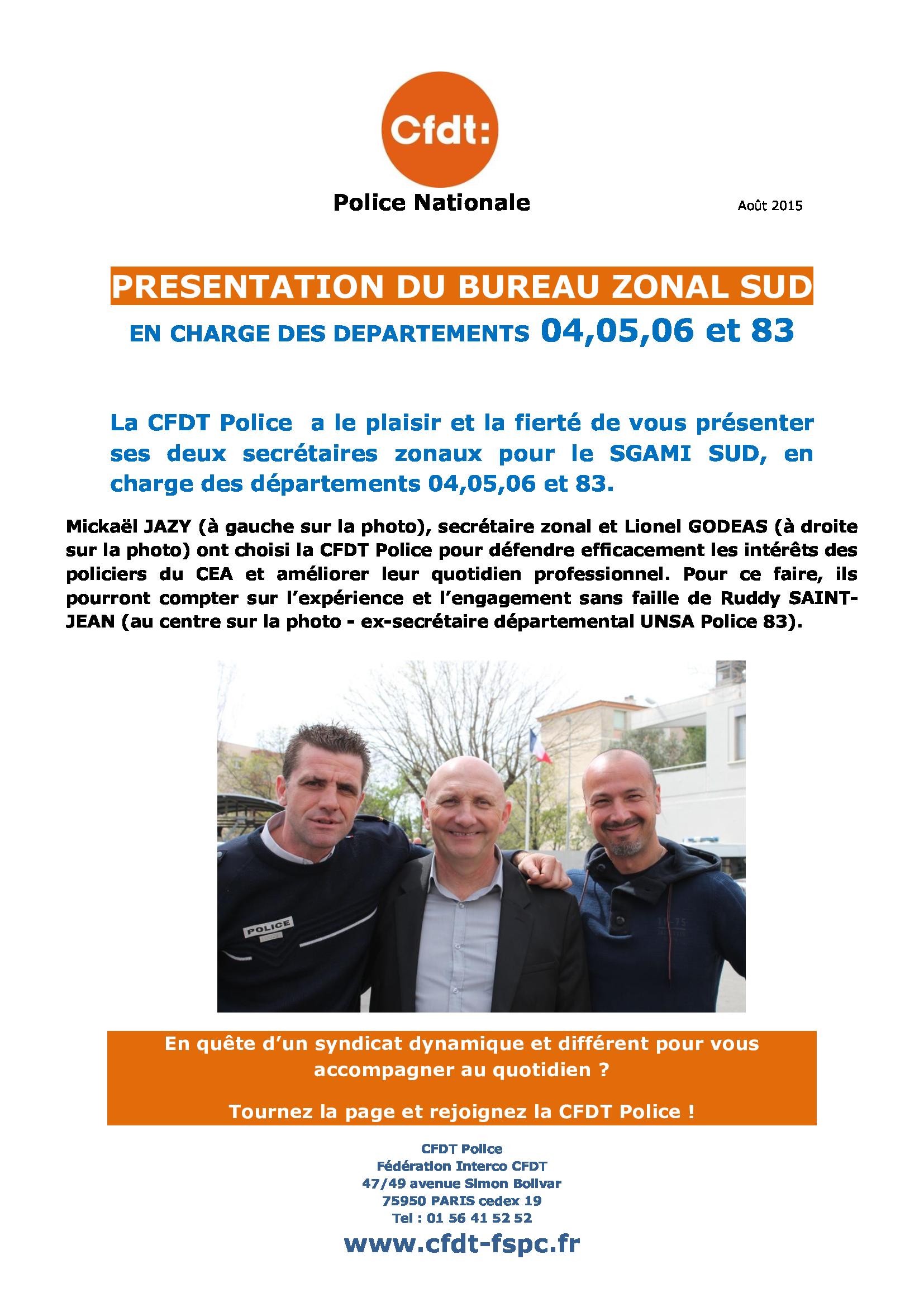 PRESENTATION_DU_BUREAU_ZONAL_SUD_EN_CHARGE_DES_DEP
